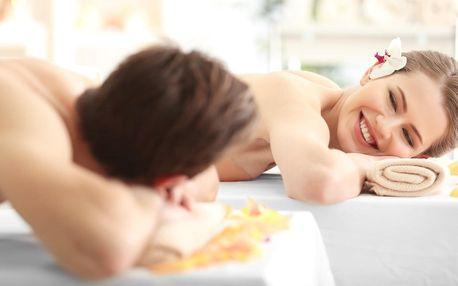 30–120min. párová masáž dle výběru v 4* hotelu