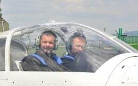 Pilotem letadla na zkoušku Brno - individuální zážitek