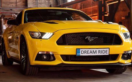 20–60 min. jízdy ve Fordu Mustang GT 5.0