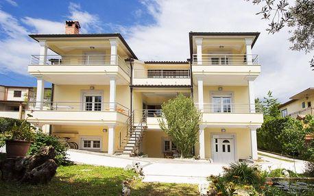 Vybavené apartmány na Istrii: až 14 nocí pro 2–4 osoby