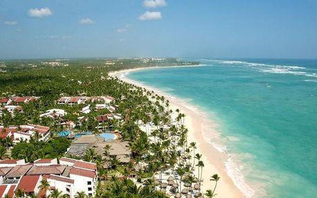 Dominikánská republika - Východní pobřeží letecky na 9-13 dnů, ultra all inclusive