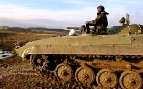 Řízení bojového vozidla pěchoty