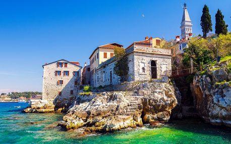 Apartmány na Istrii: balkon, výhled, na pláž 300 m