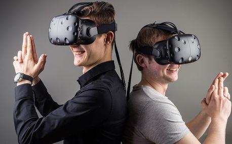 Virtuální realita i závodní simulátor pro 1–4 osoby