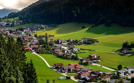 4* Alpenhotel Wildschönau v Oberau s polopenzí