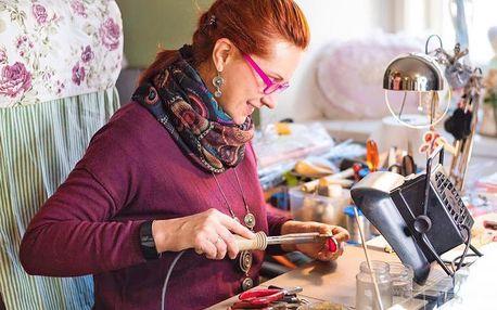 Online šperkařský kurz: výroba cínovaného šperku