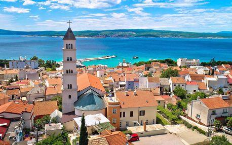 Chorvatská Crikvenica: pobyt s polopenzí a bazénem