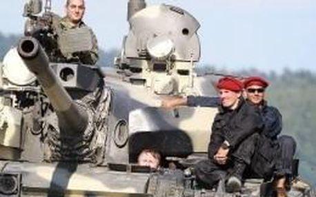 Jízda tankem T-55