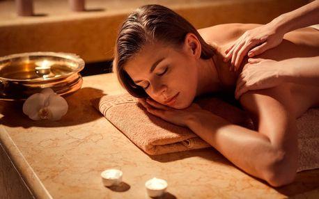 Hodina relaxace: masáž dle vlastního výběru