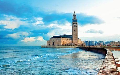 Maroko - Středozemní pobřeží letecky na 13 dnů, strava dle programu