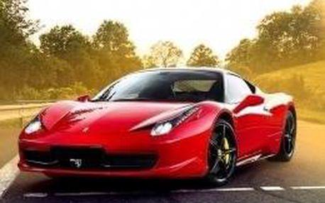 Jízda Ferrari Praha