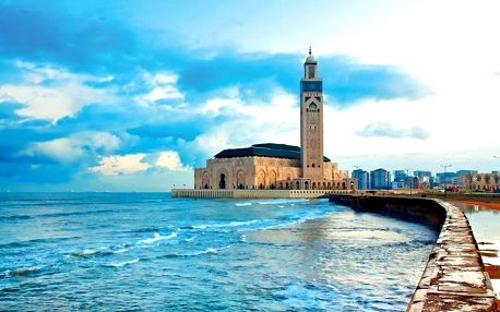 Maroko - Středozemní pobřeží letecky na 9 dnů, strava dle programu