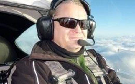 Pilotem letadla na zkoušku Příbram