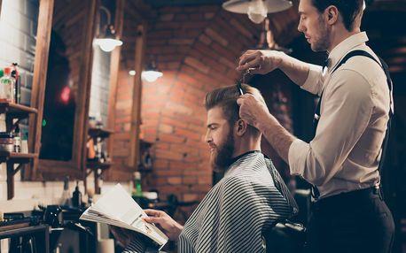 Barber balíčky pro pány: střih, úprava vousů i masáž
