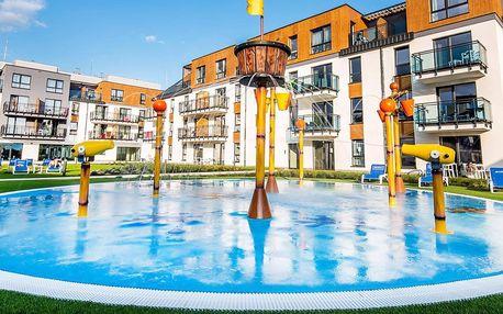 Resort u Baltu s vodním parkem, wellness a jídlem