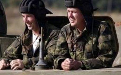 Jízda v BVP - obrněném vozidle pro pěchotu