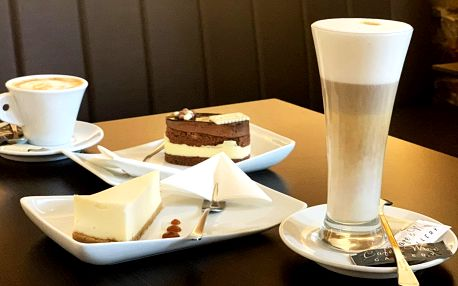 Káva a dort nebo prosecco pro 1 i 2 osoby