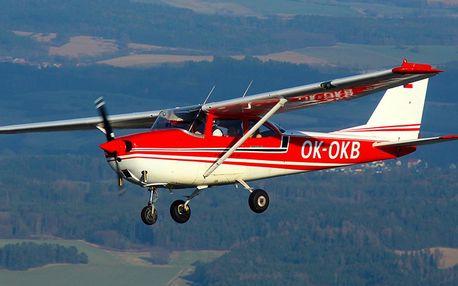 Hurá do oblak: pilotem Cessny na 30 nebo 45 minut