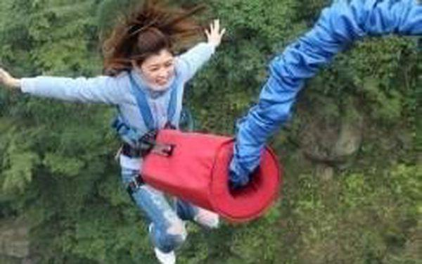 Bungee jumping Chomutov - z nejvyššího mostu v ČR