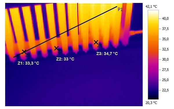 1 otopný okruh podlahového topení nebo 1 topné těleso a aplikace inhibitoru3