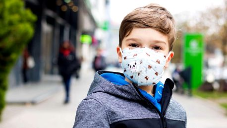 Dětský respirátor FFP2/KN95 s ventilem