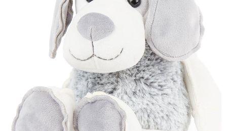 Boma Plyšový pes šedobílý, 30 cm
