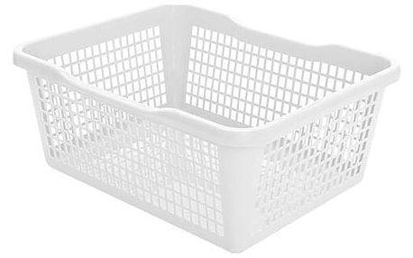 Aldo Plastový košík 47,5 x 37,8 x 20,8 cm, bílá