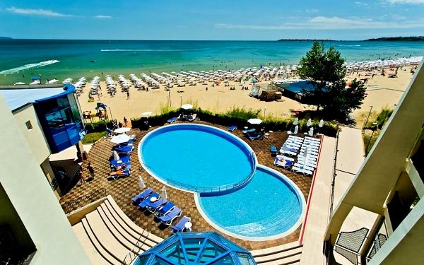 BLUE PEARL, Burgas, letecky, ultra all inclusive