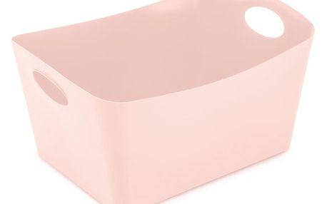 Koziol Úložný box Boxxx růžová, 15 l