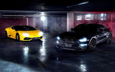 Lamborghini Huracán vs. Ford Mustang GT