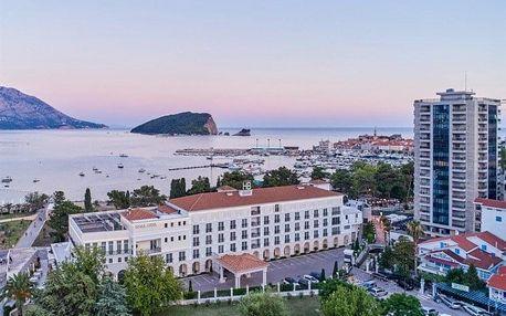 Černá Hora - Budva letecky na 8-15 dnů, snídaně v ceně