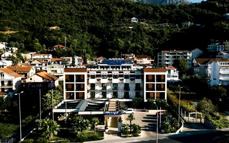 Černá Hora - Herceg Novi letecky na 8 dnů, snídaně v ceně