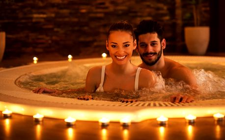 Luxusní privátní wellness: 150 minut sauny i vířivky