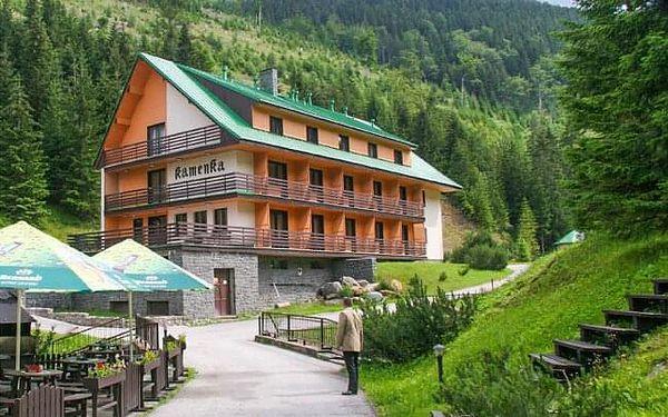 Špindlerův Mlýn v Hotelu Esprit *** s polopenzí, odpolední kávou s dezertem, bazénem a sportovním vyžitím