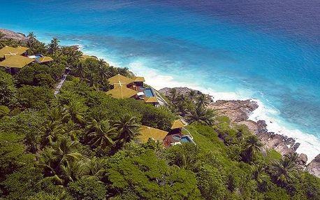 Seychely - mikroostrovy v Seychelách letecky na 9-14 dnů, plná penze