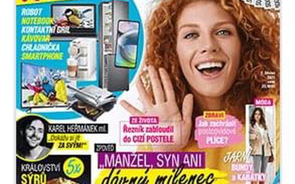 Čtvrtletní předplatné časopisu Překvapení se 2 speciály4