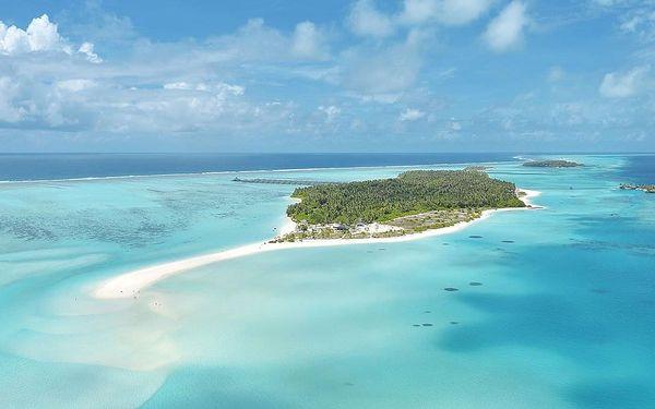 Maledivy - Jižní Ari Atol letecky na 9 dnů, plná penze