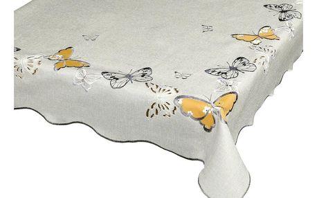 Forbyt Ubrus Motýli, 40 x 90 cm