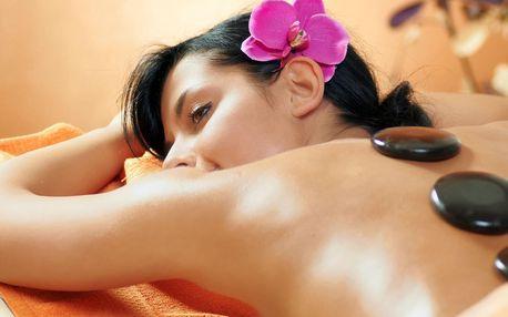 Lávové kameny, havajská masáž i hřejivý zábal