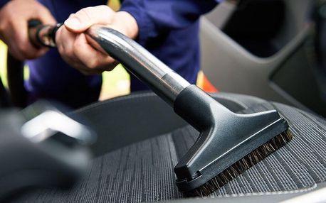 Čištění interiéru vozidla či aplikace nano vosku