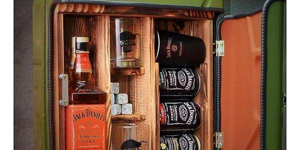 Kanystr Bar Jack Daniel's Fire Zelený, Celá ČR3