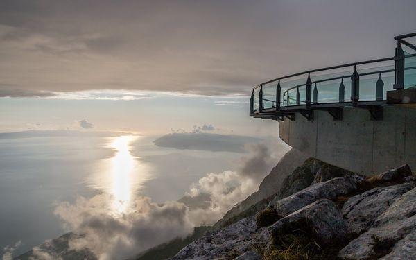 Skywalk v pohoří Biokovo