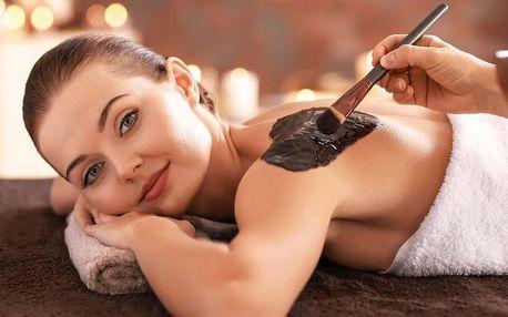 90minutová čokoládová masáž vč. peelingu a zábalu