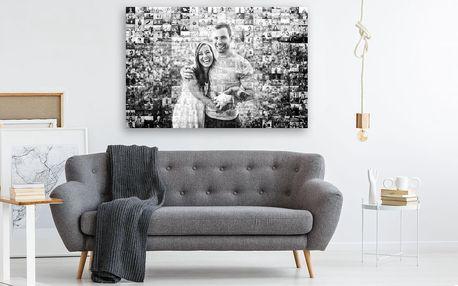 Mozaikový obraz z vlastních fotografií v 5 rozměrech