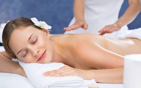 Odpočinek v délce 30-60 minut: masáž dle výběru