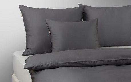 PiCaSo Manufactury ložní povlečení Mirabell Grafit %%velikost%% Přikrývka 140x200cm + 1x polštář 70x90cm
