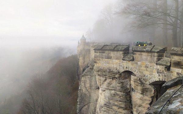 Advent v Saském Švýcarsku - pevnosti Königstein, Bastei a Hohnste, Sasko, autobusem, bez stravy4