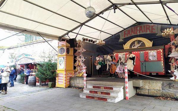 Advent v Saském Švýcarsku - pevnosti Königstein, Bastei a Hohnste, Sasko, autobusem, bez stravy5