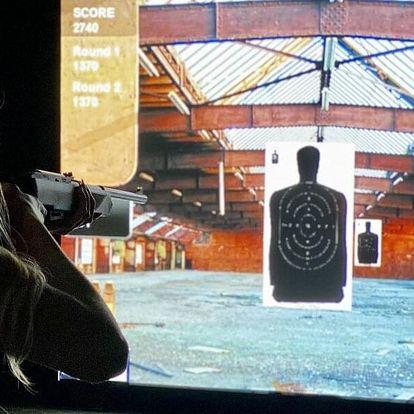 30 až 120 minut na laserové střelnici