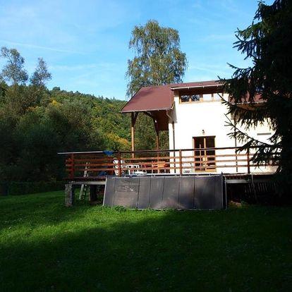 Středočeský kraj: Chata u řeky